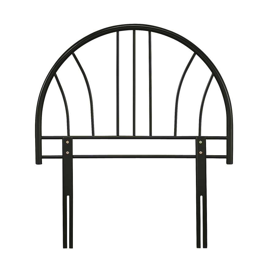 Serene Black Annabelle Headboard available from the world of beds, doncaster