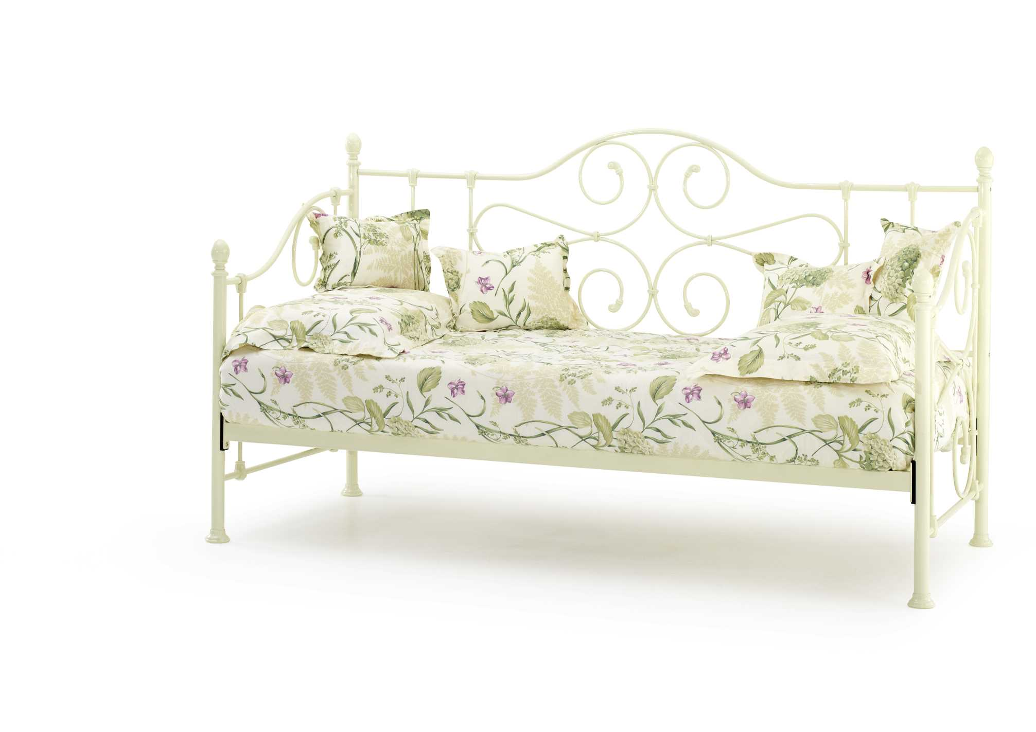 Serene Ivory Gloss Florence Day Bed available from the world of beds, doncaster