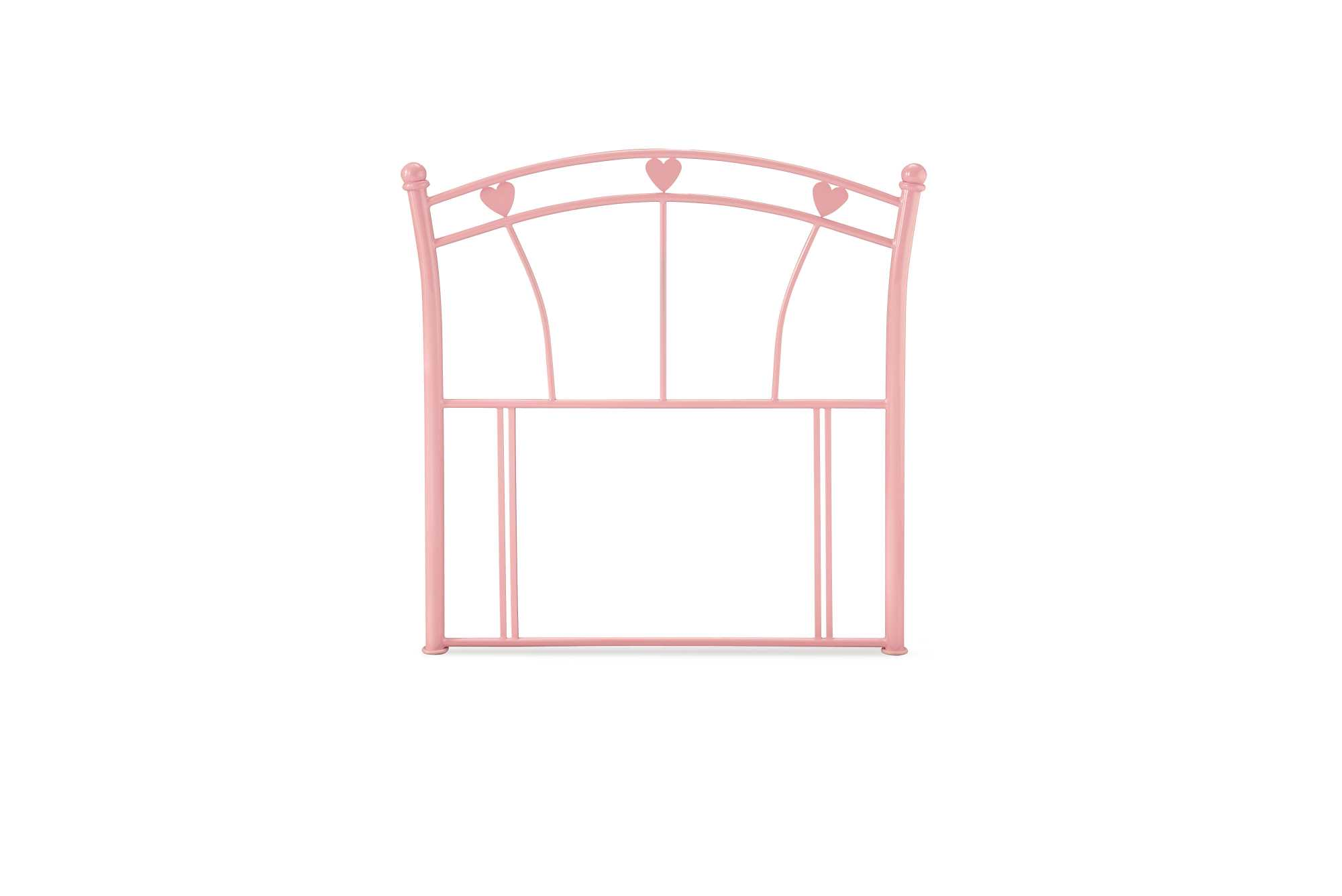 Serene Pink Gloss Jemima Headboard available from the world of beds, Doncaster