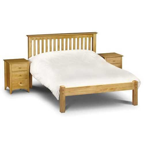 Julian Bowen Solid Pine Barcelona Bed Lowfoot End available from the world of beds, doncaster