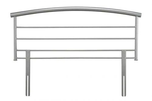 Serene Silver Brennington Headboard available from the world of beds, doncaster