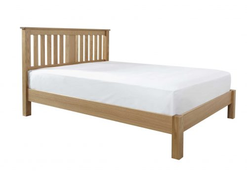 Crowther American Oak Kris Bed available from the world of beds, doncaster