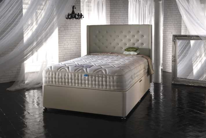Siesta Opulence Divan Bed available from the world of beds, doncaster