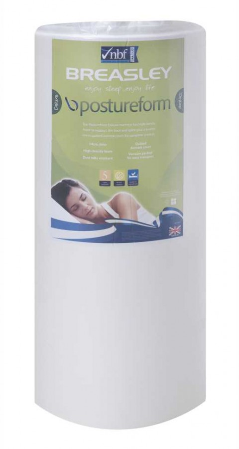 Postureform vac packed matt single available from the world of beds, doncaster, south yorkshire