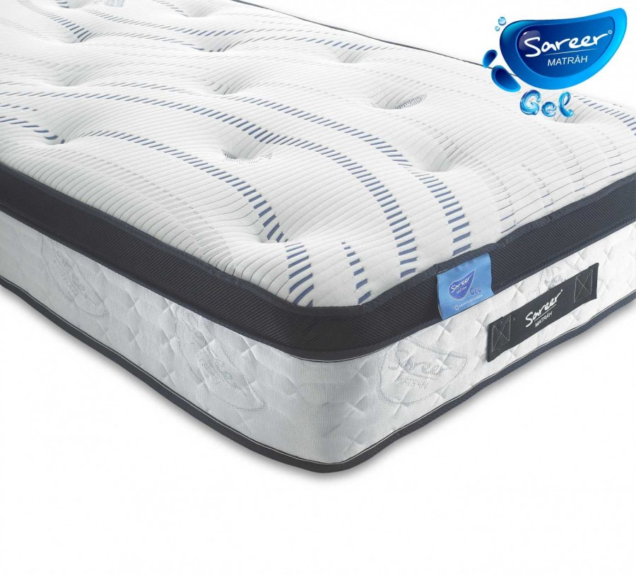Sareer Gel Pocket Matrah available from the world of beds, doncaster, south yorkshire