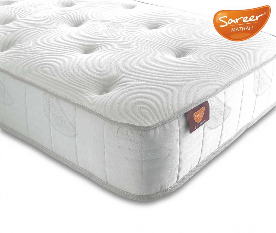Sareer Latex Coil Matrah available from the world of beds, doncaster, south Yorkshire