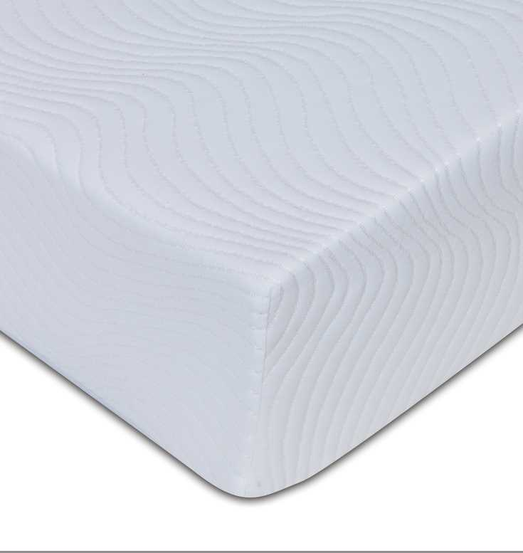 Viscofoam 500, 20cm deep, 5cm memory, non quilt removable cover available from the world of beds, doncaster, south yorkshire