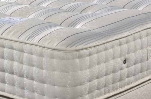 Backcare Ultimate 2000 closeup available from the world of beds, doncaster, south yorkshire