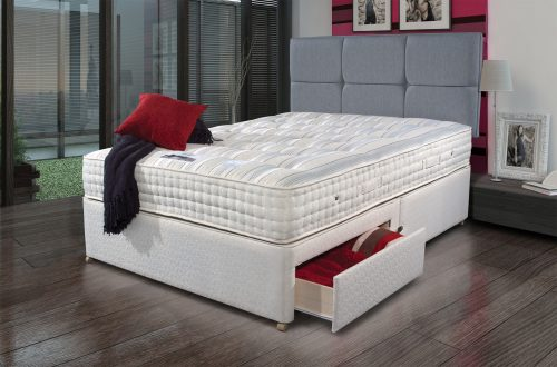 Backcare Ultimate 2000 dressed available from the world of beds, doncaster, south yorkshire