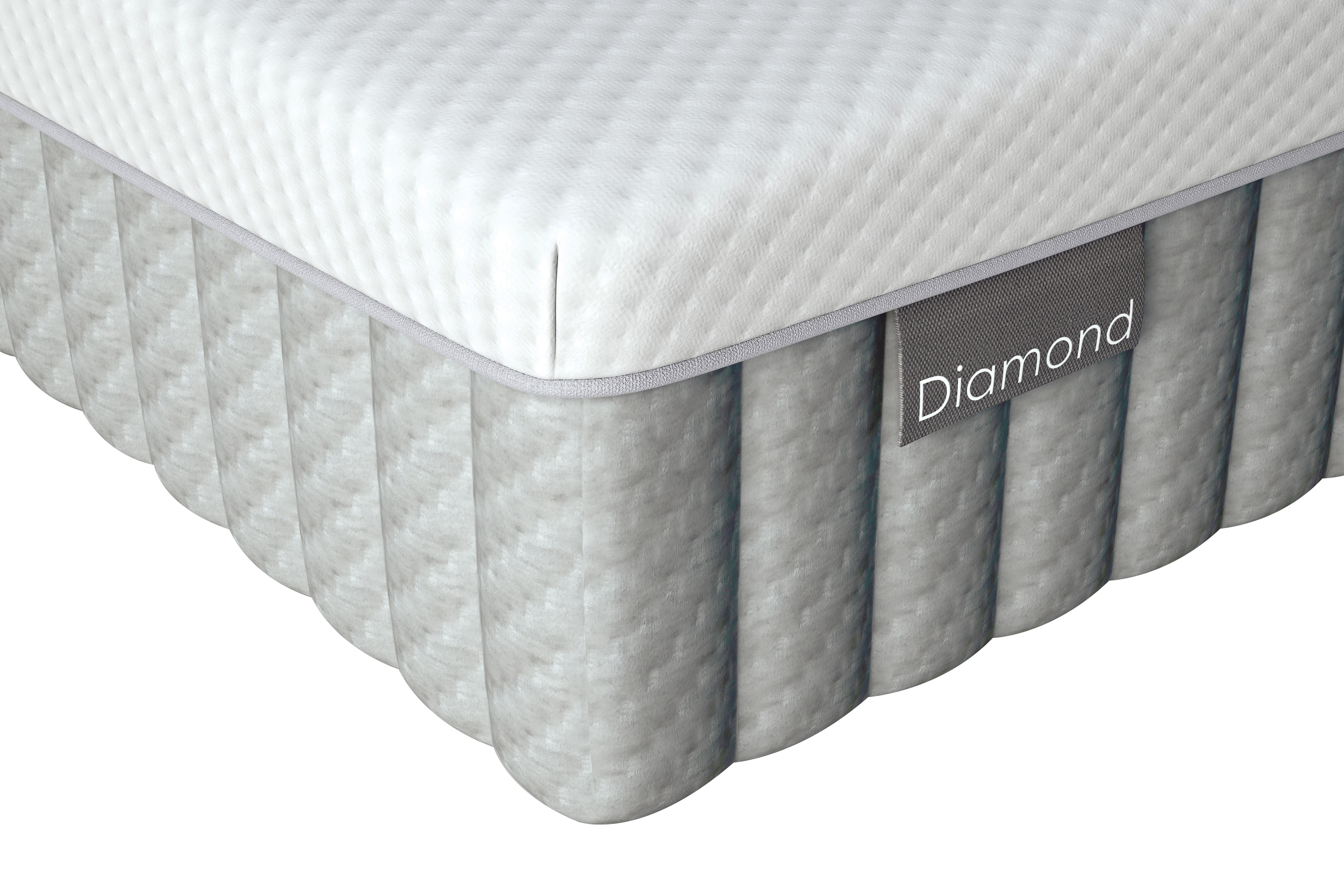 diamond mattress available from the world of beds, doncaster