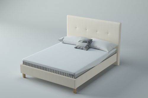 Set - Honour Upholstered Bedstead in Oyster