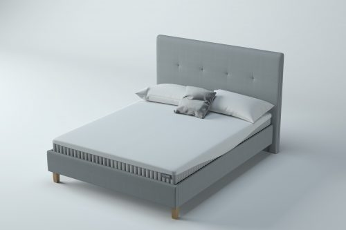 Set - Honour Upholstered Bedstead in Smoke