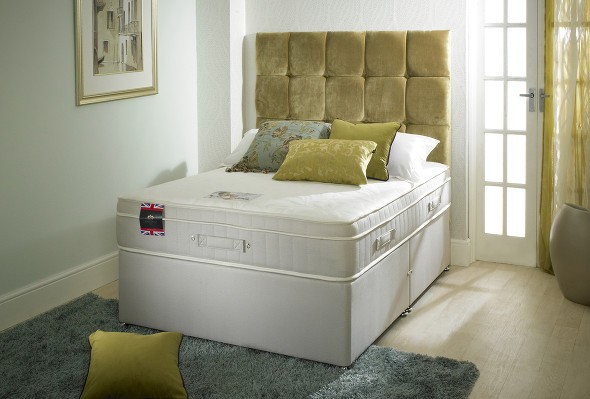 The Back care memory Royal Comfort divan bed available from the world of beds, doncaster