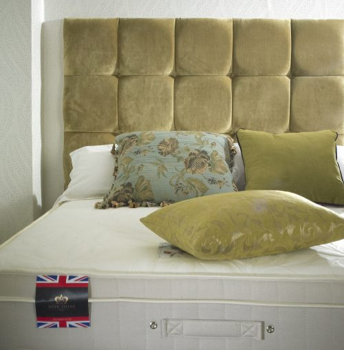 The Back care memory Royal Comfort mattress and divan bed available from the world of beds, doncaster