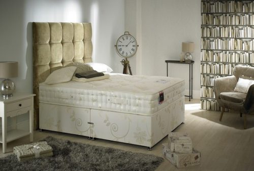 The Natural Sleep 1500 Divan Bed available from the world of beds, doncaster