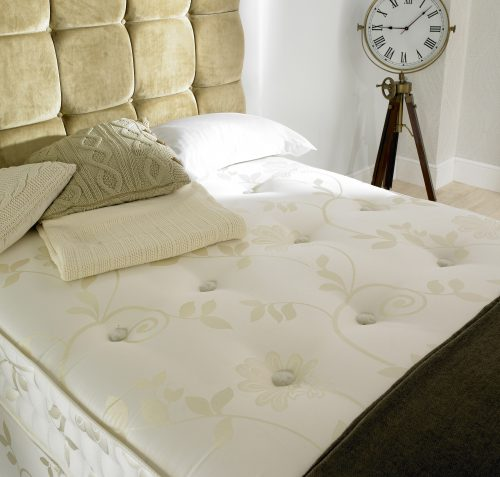 The Natural Sleep 1500 divan and mattress available from the world of beds, doncaster