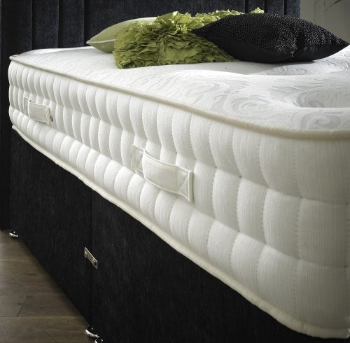 The Natural Sleep 2000 mattress and divan bed available from the world of beds, doncaster