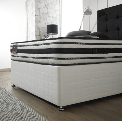 The Tencil 1000 mattress and divan bed available from the world of beds, doncaster