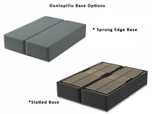Dunlopillo Divan Bed base option