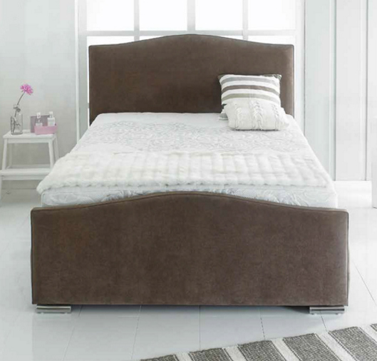 manhattan 4 39 small double fabric bed the world of beds. Black Bedroom Furniture Sets. Home Design Ideas