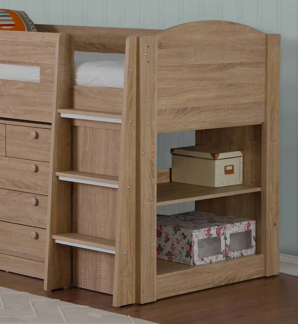 Small Box Room Cabin Bed: Flintshire Furniture Frankie Cabin Bed